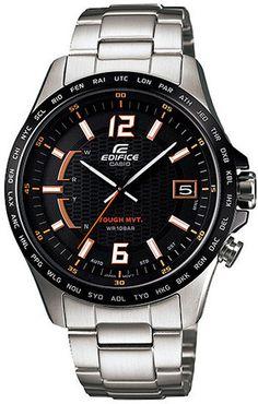 Casio Edifice Orange Arrow Series Watch EQW-A1000DB-1A5