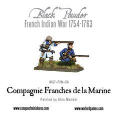 French Compagnie de la Marine boxed set