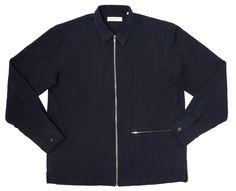 Monza Overshirt (Navy Blue)
