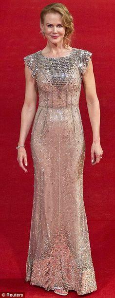 Nicole Kidman in a Dolce And Gabbana gown