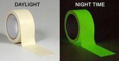 glow in dark duct tape!