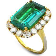 Bridal & Wedding Party Jewelry Adaptable 8.01ct Natural Diamond Emerald 14k White Gold Wedding Anniversary Tiara Crown