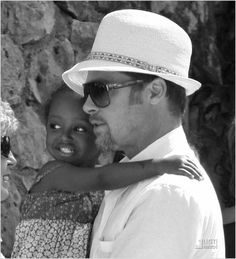 Brad Pitt  Zahara  A Good Man  adopting and having 6 kids with the most beautiful woman in the world