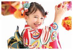 """七五三 (Shichi-Go-San)  ☆Literally  """"Seven-Five-Three"""" is a traditional rite of passage and festival day in Japan for three & seven-year-old girls, and five-year-old boys, held annually in Nov. to celebrate the growth and well-being of young children."""