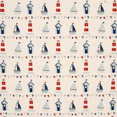 Maritime Curtain Fabric