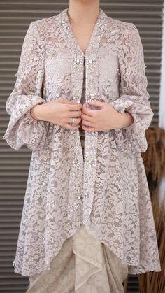 Kebaya Lace, Kebaya Hijab, Kebaya Dress, Dress Pesta, Kebaya Brokat, Model Kebaya Modern, Kebaya Modern Dress, Model Kebaya Muslim, Dress Muslim Modern