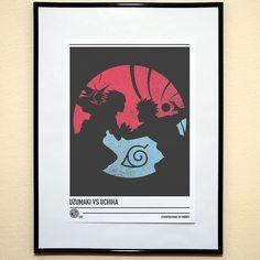 'Uzumaki Vs Uchiha #anime inspired #poster available at www.madebyminney.com #minimalist #minimalistposter #minimalposter #design #graphicdesign #art #artist #abstract #naruto #sasuke #narutouzumaki #kishimoto #narutoshippuden #fanart #typography #digitalart #creative #geek #weeaboo #photodaily #instadaily #photooftheday #Graphics #illustration #stamped #cosplay #narutoart #sasukeart