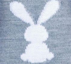This Pin was discovered by Ant Giraffe Crochet, Crochet Bunny, Diy Crochet, Baby Boy Knitting, Baby Knitting Patterns, Baby Patterns, Crochet Playsuits, Diy Crafts Knitting, Bunny Blanket