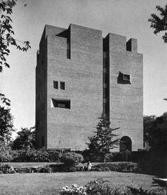 Roy E Larsen Hall, Harvard University, Cambridge, Massachusetts, 1966 (Caudill, Rowlett & Scott)