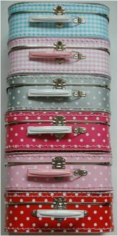 Verschillende koffertjes