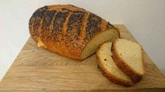 """Äntligen, ett supergott LCHF-bröd! Jag kallar det för """"The Franska""""… Det är nog första brödet som jag har fått till …"""