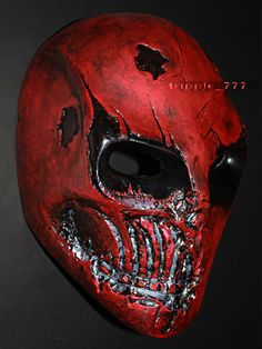 Army of two mask Airsoft paintball mask Halloween by tripple777