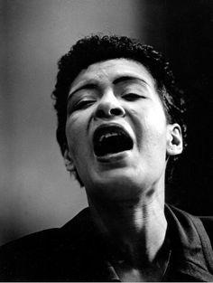 Billie Holiday, New York City   1955