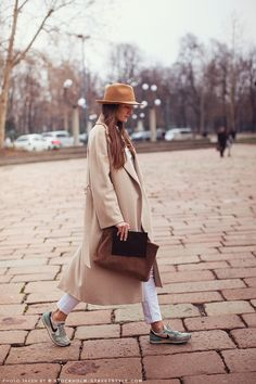 Notes on how to wear a wool hat #streetstyle