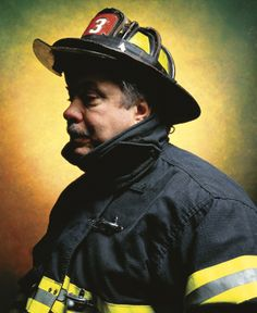 Firefighter John L. Thomasian by Andres Serrano