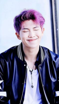 Handsome purple man.   Do you think that's smile illegal?  Just haters say ya.