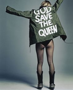 God save the queen ~ sex pistols