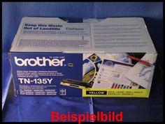 Brother TN-135Y-Lasertoner Yellow / Gelb, -A  - für Brother HL-4040CN / HL-4050CDN / HL-4070CDW, MFC-9440CN / MFC-9450CDN / MFC-9840CDW, DCP-9040CN / DCP-9042CDN / DCP-9045CDN u. a.    Bilder zur Nutzung für private Auktionen z.B. bei Ebay. Gewerbliche Nutzung von Mitbewerbern nicht gestattet. Toner kann auch uns unter www.wir-kaufen-toner.de angeboten werden.