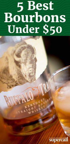 5 Best Bourbons Under $50 Bourbon Recipes, Bourbon Drinks, Cocktail Drinks, Cocktails, Bourbon Whiskey, Whisky, Best Bourbon Under 50, Best Bourbons, Wine And Spirits