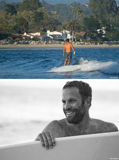 Jack Johnson catching some waves