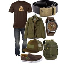 """""""The Bronze Belt - Green"""" by kristinmadsen on Polyvore"""