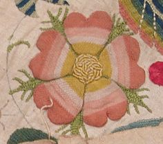 Genevieve's SCA Wiki / Elizabethan Embroidery Roses