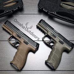 Which one would you take? HK VP9 9mm pistols in FDE and OD Green. $699 each. Follow @omahaoutdoors if you haven't done so already. Ready to ship to your FFL. Contact Omaha Outdoors for your H&K... Find our speedloader now! http://www.amazon.com/shops/raeind