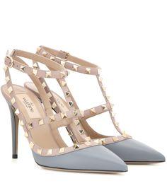 mytheresa.com - Pumps Rockstud aus Leder - Luxury Fashion for Women / Designer clothing, shoes, bags