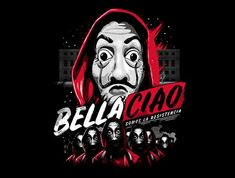 Bella Ciao is a great Mens Basic Tee from our amazing collection of custom fandom inspired products. This product was designed by eduely, who is part of our exclusive pop-culture inspired artist community. Joker Hd Wallpaper, Sad Wallpaper, Frozen Wallpaper, Estilo Geek, Vendetta, Joker Images, Day Of The Shirt, Wallpapers For Mobile Phones, Japon Illustration