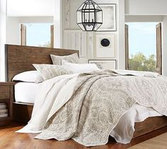 Pottery Barn Billie Paisley Quilt LOVE THIS IN THE BLUE!!