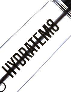 Black Special Edition HydrateM8 Water Bottle - HydrateM8