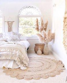 Boho Bedroom Decor, Boho Room, Room Ideas Bedroom, Home Bedroom, Living Room Decor, Bedroom Rustic, Bedroom Vintage, Warm Bedroom, Boho Style Decor