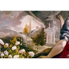 The Immaculate Conception by El Greco 1541-1614 Spain Toledo Iglesia Santa Cruz Canvas Art - El Greco (18 x 24)