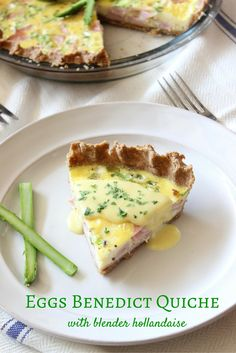 Brunch for a crowd with all the flavors of Eggs Benedict without poaching eggs!
