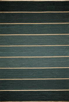 Bands Area Rug (Teal) - 8'x 10' : $747.00. Available online at www.TheLookInteriorsNH.com