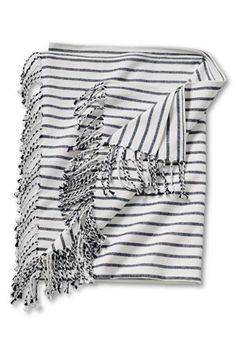Breton Stripe Throw