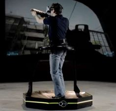 This Virtual Reality Treadmill Should Be Part of Any Gamer's Roo trendhunter.com