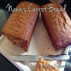 Nana's Carrot Bread by Suburban Epicurean #bread #fall