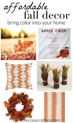 Affordable Fall Deco