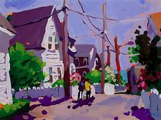 Charles Sovek, Artist and Author | Exhibition Gallery Archive: Forever Provincetown