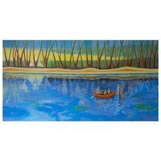 Himmel und Wasser (190x100 cm, Acryl) - the full panorama of my painting made this easter 2018. It's send over 500 km to the new owners and I'm so glad they received it without any damage!!!⠀ ⠀ #art #artist #acrylpainting #artnews #contemporaryart #contemporaryartist #landscapepainting #surrealism #symbolism  #symbolisme #zeitgenössischekunst #kölnkunst #künstler #symbol #symbolisminart #magic #graffiti #figurative #figurativeart #figurativeartist #paintingmaterials
