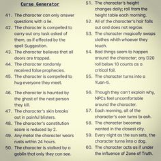 It has been a long time coming but here it is, part 4 of the Nightmare Generator. As requested by . This month all… Dungeons And Dragons 5e, Dungeons And Dragons Homebrew, Dnd Dragons, Tabletop Rpg, Tabletop Games, Dnd Stories, Dungeon Master's Guide, Dnd 5e Homebrew, Dnd Monsters