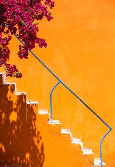 Yellow Steps, Colours of Greece
