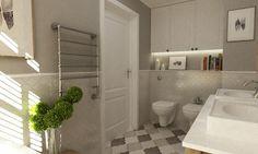 łazienka w stylu hampton - zdjęcie od Grafika i Projekt architektura wnętrz - Łazienka - Styl Klasyczny - Grafika i Projekt  architektura wnętrz