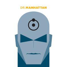 Dr. Manhattan / Jag Nagra portraits