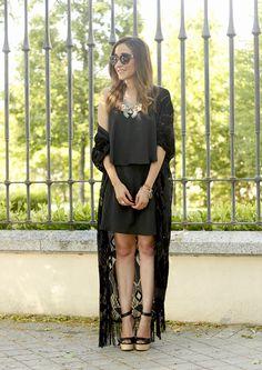 Black Kimono | BeSugarandSpice - Fashion Blog