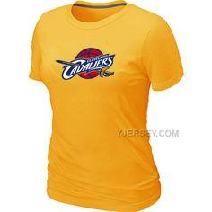 http://www.yjersey.com/nba-cleveland-cavaliers-big-tall-primary-logo-yellow-women-t-shirt.html #NBA CLEVELAND #CAVALIERS BIG & TALL PRIMARY LOGO YELLOW WOMEN T SHIRTOnly$29.00  Free Shipping!