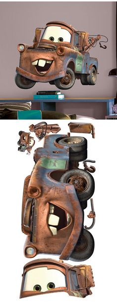 Disney Mater Giant Wall Sticker - Wall Sticker Outlet