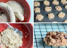 Super zdravé a rychlé fitness sušenky ze 2 ingrediencí
