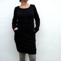 pocket jumper dress.